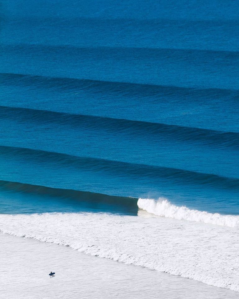 These waves in Morocco