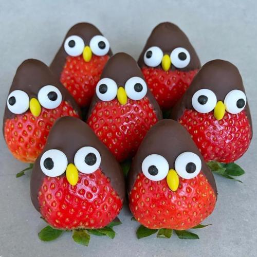 Strawberry Penguins
